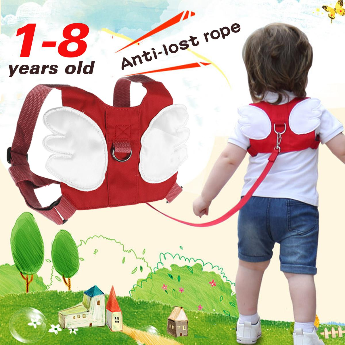 Children Anti Lost Safety Rope Band Harness Strap Toddler Walking Pulling Reins Baby Walker Anti Lost Wrist Link Kid Lost