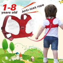 Kinder Anti Verloren Sicherheit Seil Band Harness Strap Kleinkind Zu Fuß Ziehen Zügel Baby Walker Anti Verloren Handgelenk Link Kid Verloren(China)