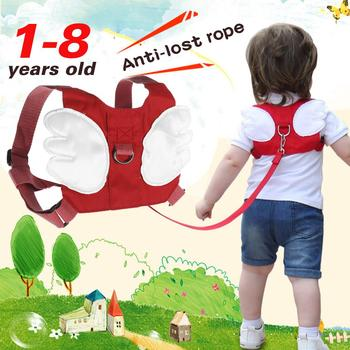 Children Anti Lost Safety Rope Band Harness Strap Toddler Walking Pulling Reins Baby Walker Anti Lost Wrist Link Kid Lost фото