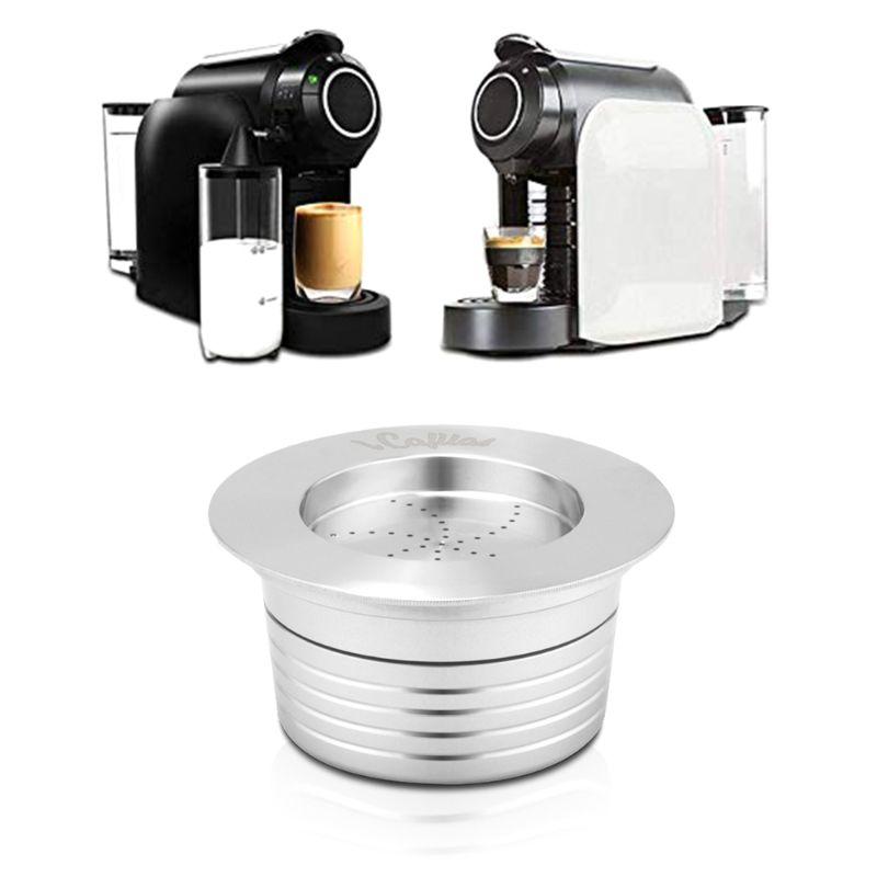 Фильтры для кофе из нержавеющей стали, многоразовые капсулы для кофе, капсулы для lavgirl Blue