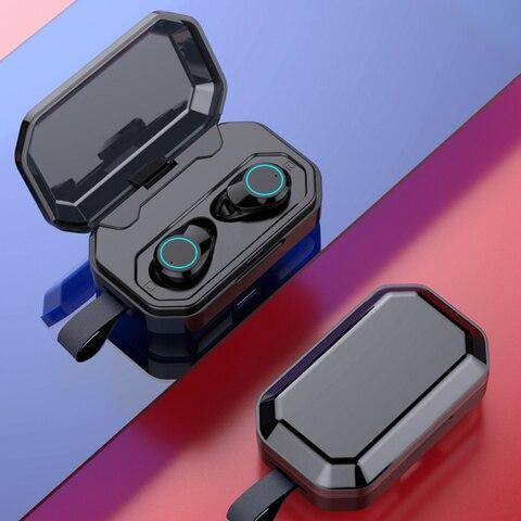 Bluetooth 5.0 Headset TWS Wireless Earphones Twins Earbuds 5D Stereo Headphones Pakistan