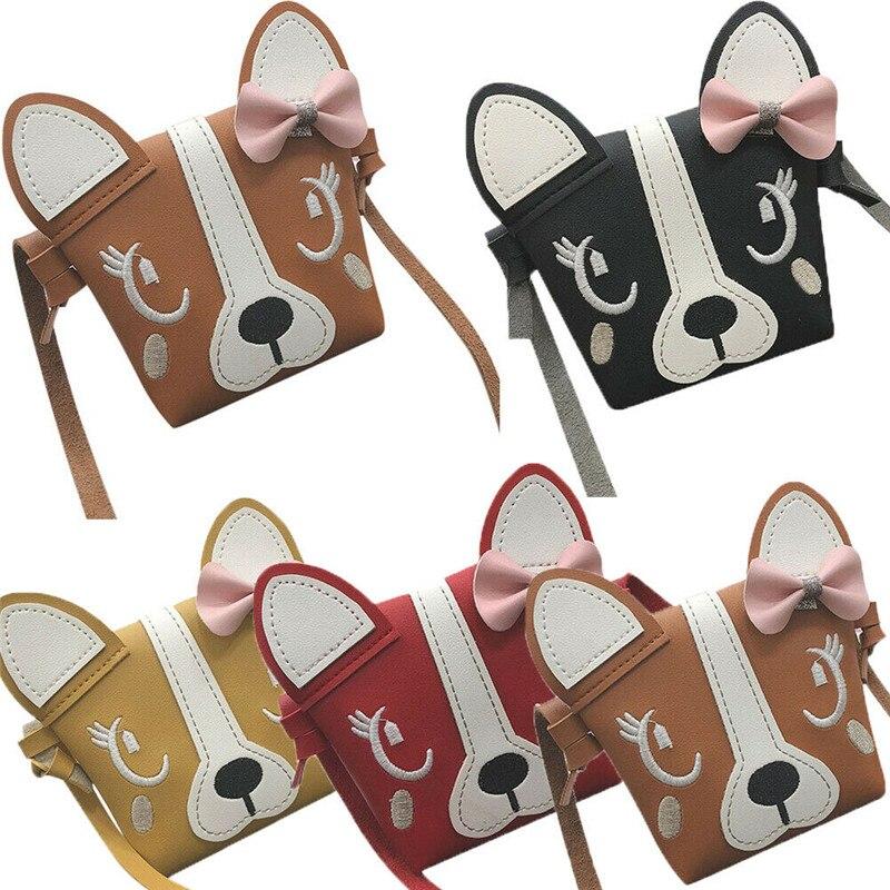 Cute Kids Little Girls Purse Cute Leather Messenger Crossbody Bag Mini Shoulder Coin Wallet