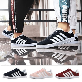 Men Women Fashion Solid Vulcanized Shoes Breathable Lace-up Casual Shoes Mens Sneakers Walking Shoes men sneakers shoes pu leather casual shoes for mens lace up flat shoes trainer outdoor breathable walking shoes basket homme