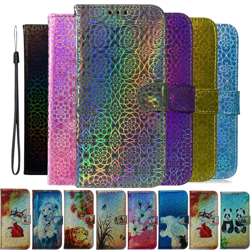 Colorful Leather <font><b>Flip</b></font> <font><b>Case</b></font> For Huawei <font><b>Honor</b></font> <font><b>9</b></font> 10 20 <font><b>Lite</b></font> 7A 7S 8X 8S 9X Cover Y5 Y6 2018 Y9 2019 <font><b>Cases</b></font> Cartoon Wallet Phone Bags image