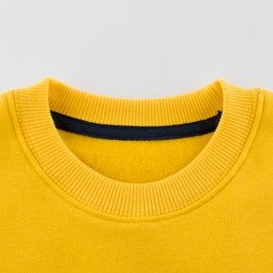 Image 5 - 봄 가을 어린이 소년 소녀 의류 면화 긴 소매 편지 세트 아동 의류 Tracksuit 아기 티셔츠 바지 2 Pcs/Suit