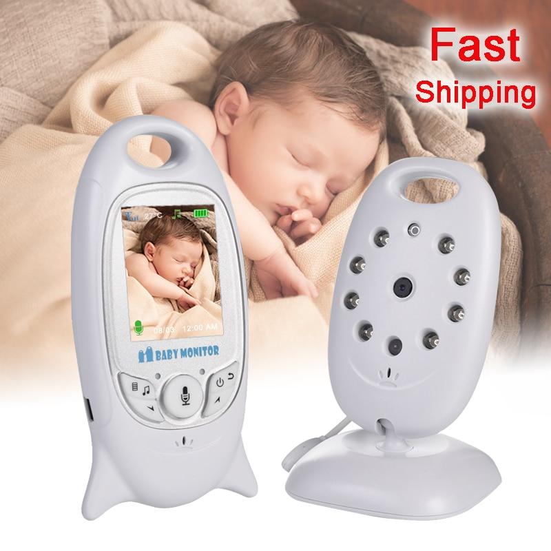 VB601 детский монитор 2 дюйма BeBe Babysitter электронная няня Радио Видео няня камера ночного видения контроль температуры 8 Колыбельная