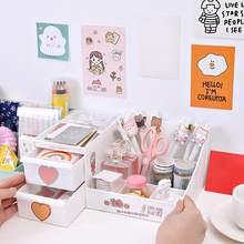 Porte-stylo multifonction créatif 1 pièce, boîte de rangement pour les débris de bureau, mignon Kawaii, accessoires de bureau Des R1H9