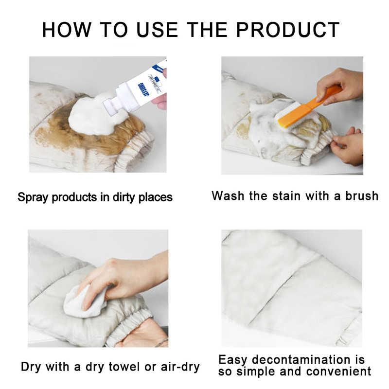 水なし服洗顔フォーム服コートジャケット靴バッグ洗浄剤 DC112