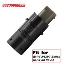 Novo 66206989069 Parktronic PDC Sensor De Estacionamento Para BMW E39 E46 E53 E60 E61 E63 E64 E65 E66 E83 X3 X5 Z4 Assistência de Estacionamento