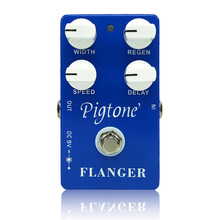Pigtone PP-16 flanger Guitar effect pedal acoustic electric guitar accessories effects pedals Real bypass