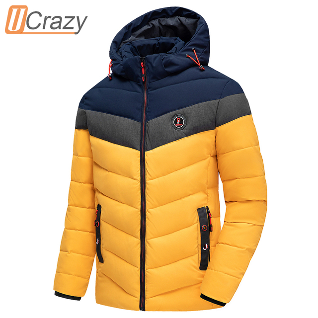 Men 2020 Winter Brand New Casual Warm Thick Waterproof Jacket Parkas Coat Men New Autumn Outwear Windproof Hat Parkas Jacket Men 1