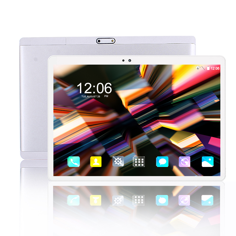 10 Inch Tablet PC 6+128GB Android 9.0 Google Store 10 Core 1920*1200 IPS Dual SIM Card 4G Phone Call Android 9 WIFI Tablets 10.1