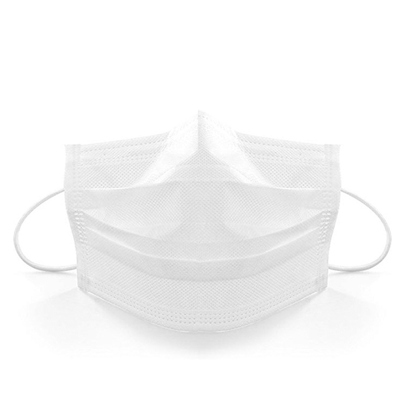 60Pcs Disposable Face Mask Ear Loop Non Woven Mask White Mouth Muffle Anti-Dust Masks