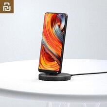 Youpin Panki ไร้สายโทรศัพท์ Stand Charger Type C รุ่นสำหรับ Xiaomi Samsung Huawei Type C โทรศัพท์สมาร์ท 18W ชาร์จไร้สายได้อย่างรวดเร็ว