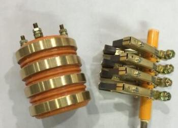 Free shipping 68x60x25mm Brush alternator collector ring  Inside diameter copper ring mingdong