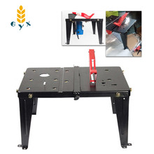 Multifunctional Woodworking Workbench/Portable Household Small Theater Sliding Table/Electric Circular Saw Flip Saw Table
