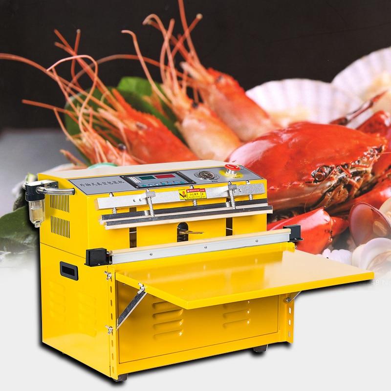 Desktop vacuum packaging machine Inflatable sealing machine Commercial automatic food vacuum machine Vacuum Food Sealers     - title=