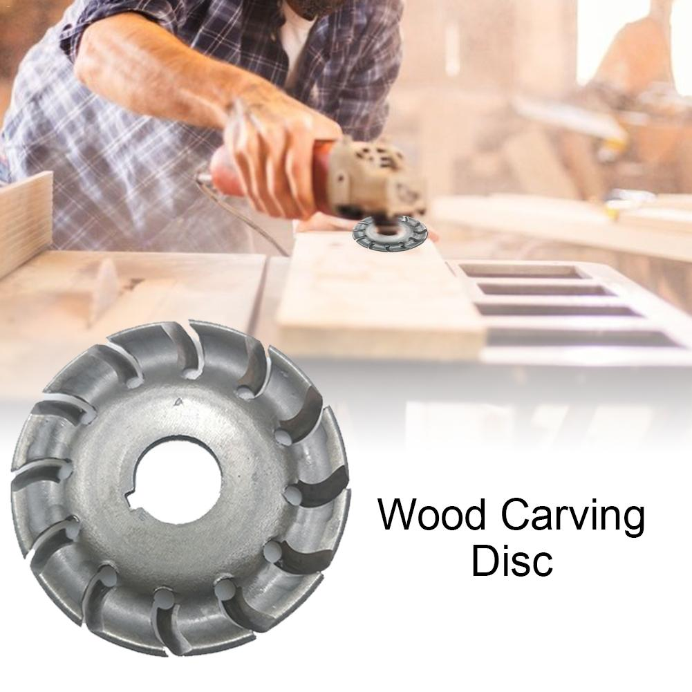 12 Tooth 16mm Hole Forming Plate 65mm Angle Grinder Disk Protection Cover Wood Carving Tool Mill Accessories Woodworking Tools