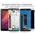Дисплей для Xiaomi Redmi Note 4 MediaTek, ЖК-дисплей с сенсорным экраном, замена 10-ядерного процессора MTK Helio X20