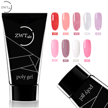 ZWTale Acryl Gel Crystal Nail Poly 30ml UV Quick Drying Art Lacquer Jelly Extension Builder