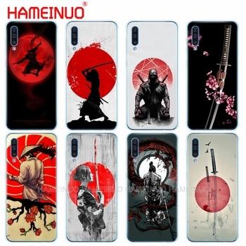 Caja del teléfono de silicona caso de la cubierta para Samsung Galaxy S10 E PLUS A10 A20 A30 A40 A50 A70 A10E A20E M20 de protección coque parachoques Japón nijia
