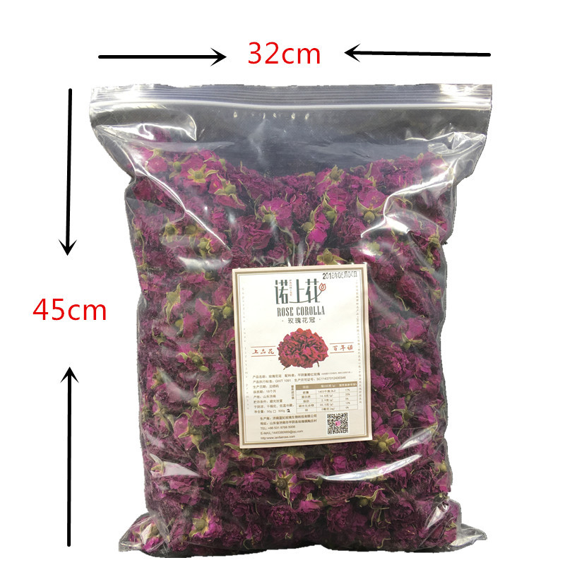 19 Years New Flower Level Pingyin Rose Corolla Tea Low Temperature Sulfur-Free Large Rose Tea Beauty tea 500g 4