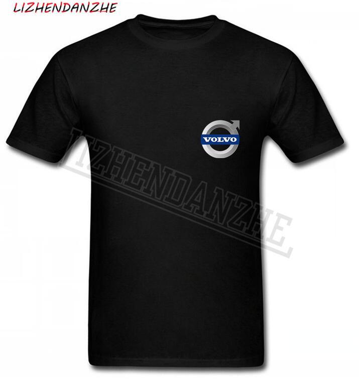 Volvo Car Logo T-Shirt Men T Shirt Costume, Fashion Style 100% Cotton TEE TShirt Brand Clothing Short Sleeve AUTO T Shirt AAA+54