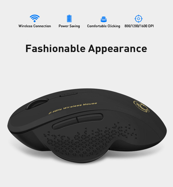 Wireless Mouse Gamer Computer Mouse Wireless Gaming Mouse Ergonomic Mause 6 Buttons USB Optical Game Mice For Computer PC Laptop 3