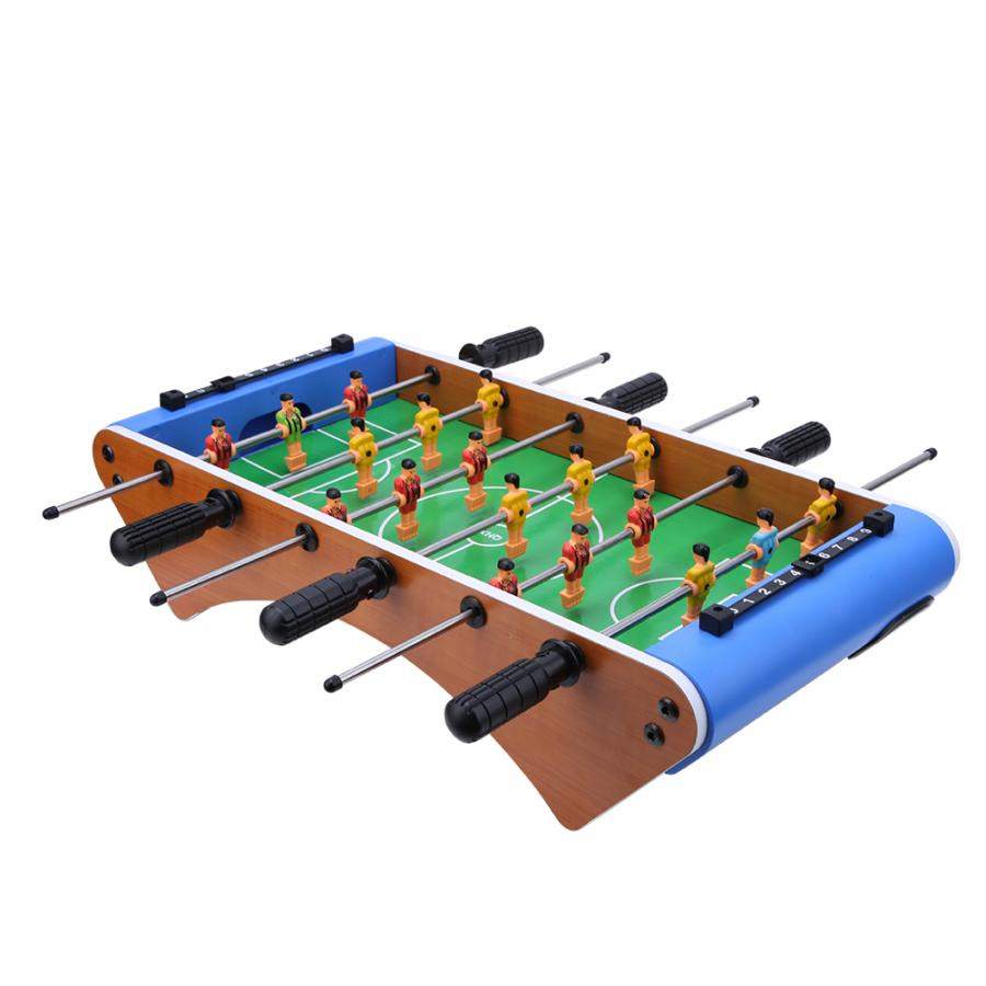 Table Football Soccer Game 6 Rods 10