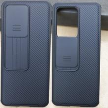 Nillkin Camshield Trượt Camera Cho Samsung Galaxy S20 Cực S20 Plus Bảo Vệ Ống Kính Ốp Lưng