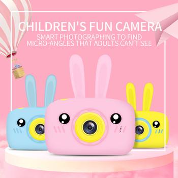 Aparat fotograficzny dla dzieci aparat cyfrowy HD 2 Cal aparat fotograficzny dla dzieci zabawki prezent urodzinowy dla dzieci 2000W zabawki dla dzieci aparat ładujący USB tanie i dobre opinie Andoer 2x-7x Wodoodporna odporny na wstrząsy Full hd (1920x1080) 1 2 3 cali 15-45mm 10 0-20 0MP Child Camera