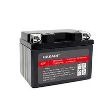 Batteria ricaricabile HAKADI LiFePO4 12V 6Ah a ciclo profondo con lunga durata BMS integrata per Scooter per sistemi solari giocattolo per bambini