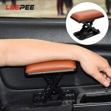 Подушка для автомобильного подлокотника LEEPEE с защитой от усталости, накладка на подлокотник для двери, защитный коврик для левого подлокот...