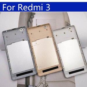 Image 4 - 3S סוללה חזרה כיסוי עבור Xiaomi Redmi 3 חזור סוללה דלת אחורי שיכון כיסוי עבור Redmi 3S מקרה מארז פגז החלפה