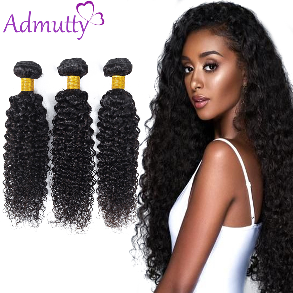 Mongolian Kinky Curly Hair Bundles Weave Non-Remy Hair Bundles 100% Human Hair Weave Bundles Natural Color Free Shipping