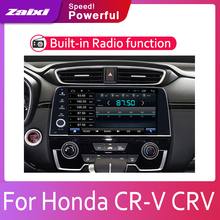 ZaiXi 9 HD 1080P IPS LCD Screen Android 8 Core For Honda CR-V CRV 2017-2019 Car Radio BT 3G4G WIFI AUX USB GPS Navi Multimedia joying 2 din octa core android 8 1 car dvd gps for honda crv cr v 2007 2008 2009 2010 2011 wifi usb video radio hd 9 inch 4 64gb