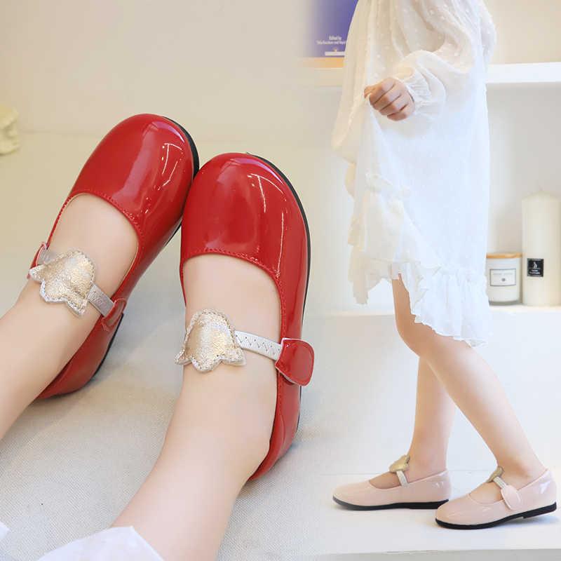 CYSINCOS Kleine Mädchen Mode Prinzessin Schuhe Weichen Boden Tragen Widerstand Atmungsaktive Ballerina Slip-auf kinder Kleinkind Schuhe