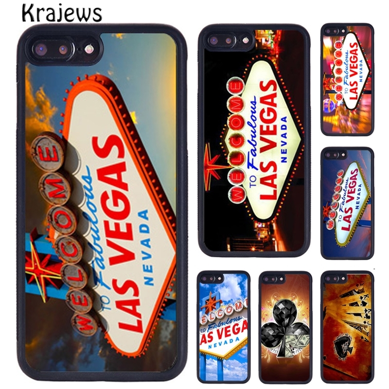 Krajews Las Vegas Nevada Casino Usa Poker Cards Phone Case For Iphone X Xr Xs 11 Pro Max 5 6 7 8 Plus Samsung S5 S6 S7 S8 S9 S10 Aliexpress