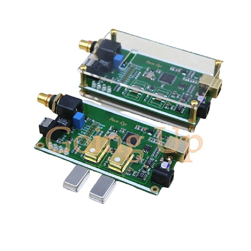 XMOS XU208 Asynchronous USB Coaxial Fiber Output Digital Interface IIS DSD256 SPDIF Dop64
