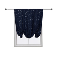 1 Piece Door Window Curtain Blackout Curtain for Living Room Bedroom Kitchen Short Curtain Window Treatment Drapes floral curtain for living room print voile for window bedroom linen curtain blackout drapes kitchen treatment pastoral x513 30