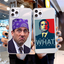 The office TV show Case Soft TPU Back Cover For iPhone 11 Pro XS MAX 6 6S 7 8 Plus X XR Case Cover Phone Case Michael Scott Case