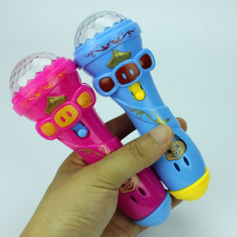 Flash Microphone, Starry Star, Luminous Stick, Luminous Toy Y4UD