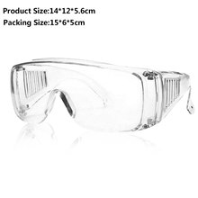 Eye-Glasses Protective Transparent Antisand Work Women Windproof