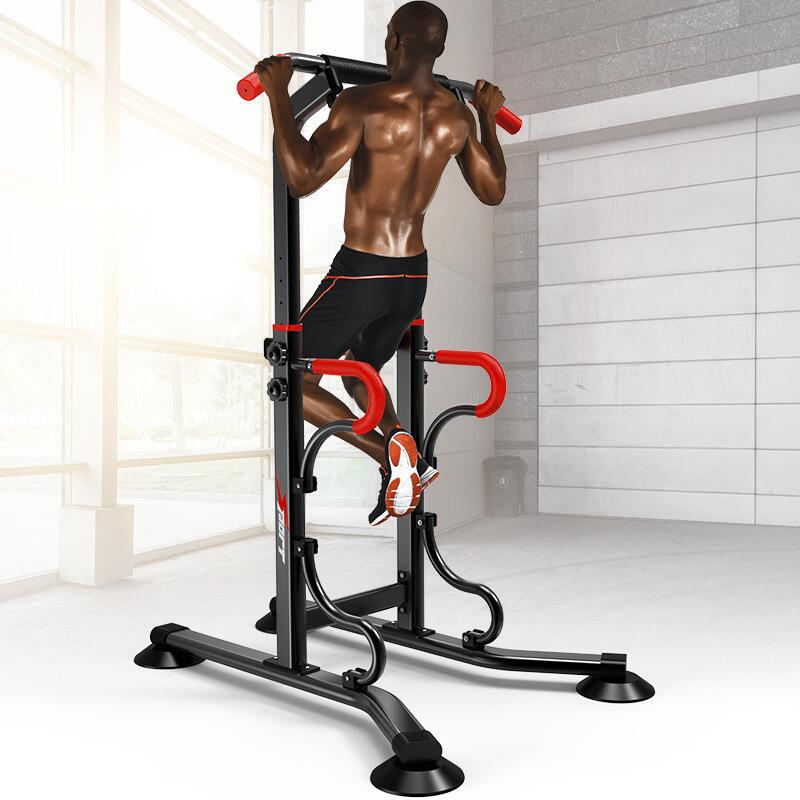 new Multifunctional Indoor Fitness Equipment Horizontal Bar Single/Parallel Bar Pull Up Trainer Body Buliding Arm Back Exercise image