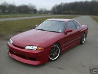 For Nissan R32 Skyline GTS Front Bumper Car accessories Exterior Body kits DO style FRP Fiber Glass Unpainted