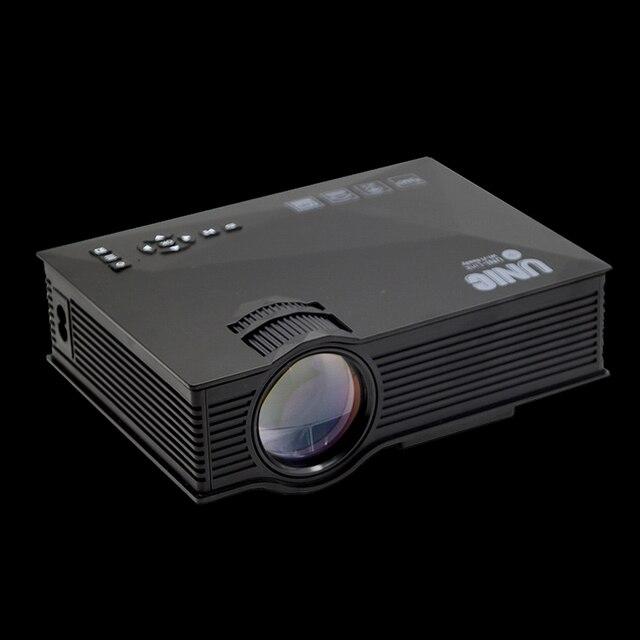 Original UNIC UC68 UC68H Portable LED Projector 1800 Lumens 80 110 ANSI HD 1080p Full HD 1
