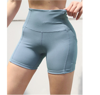 Women Sportswear Pocket Booty Shorts