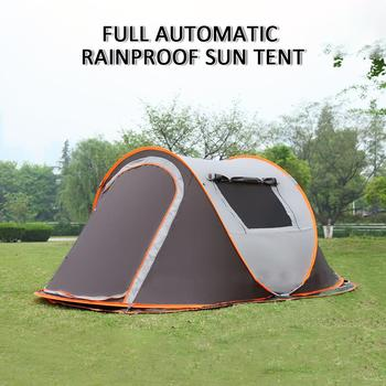 Beach Tent Comfortable UV Protection Sun Shelters Polyester Sea Summer Travel Pop Up Tent Garden Water Camping Tent