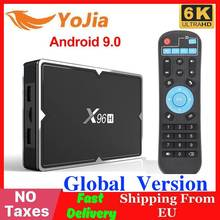 Newest X96 Mini 4K Smart TV BOX Android 9.0 X96H 4GB RAM 64G