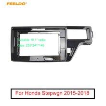"FEELDO Car Audio Stereo 10.1"" Big Screen 2DIN Fascia Frame Adapter For Honda Stepwgn RHD DVD Player Dash Fitting Panel Frame Kit"
